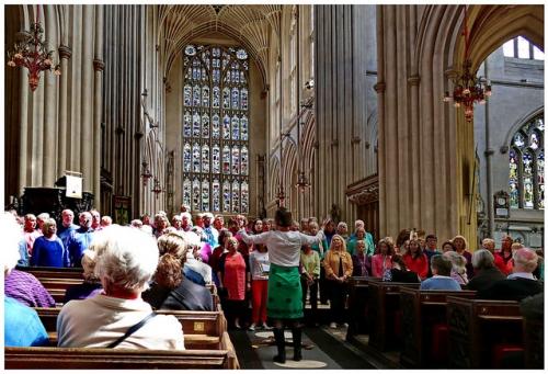 Songways at Bath Abbey