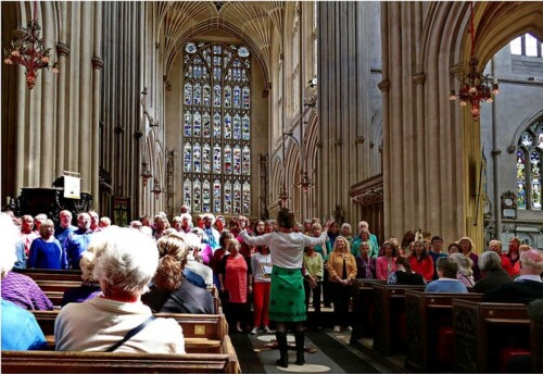 Songways at Bath Abbey