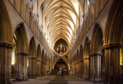 The handsome Cathedral Nave
