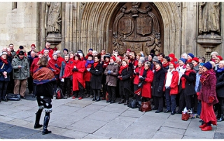 Songways at the Bath Christmas Market