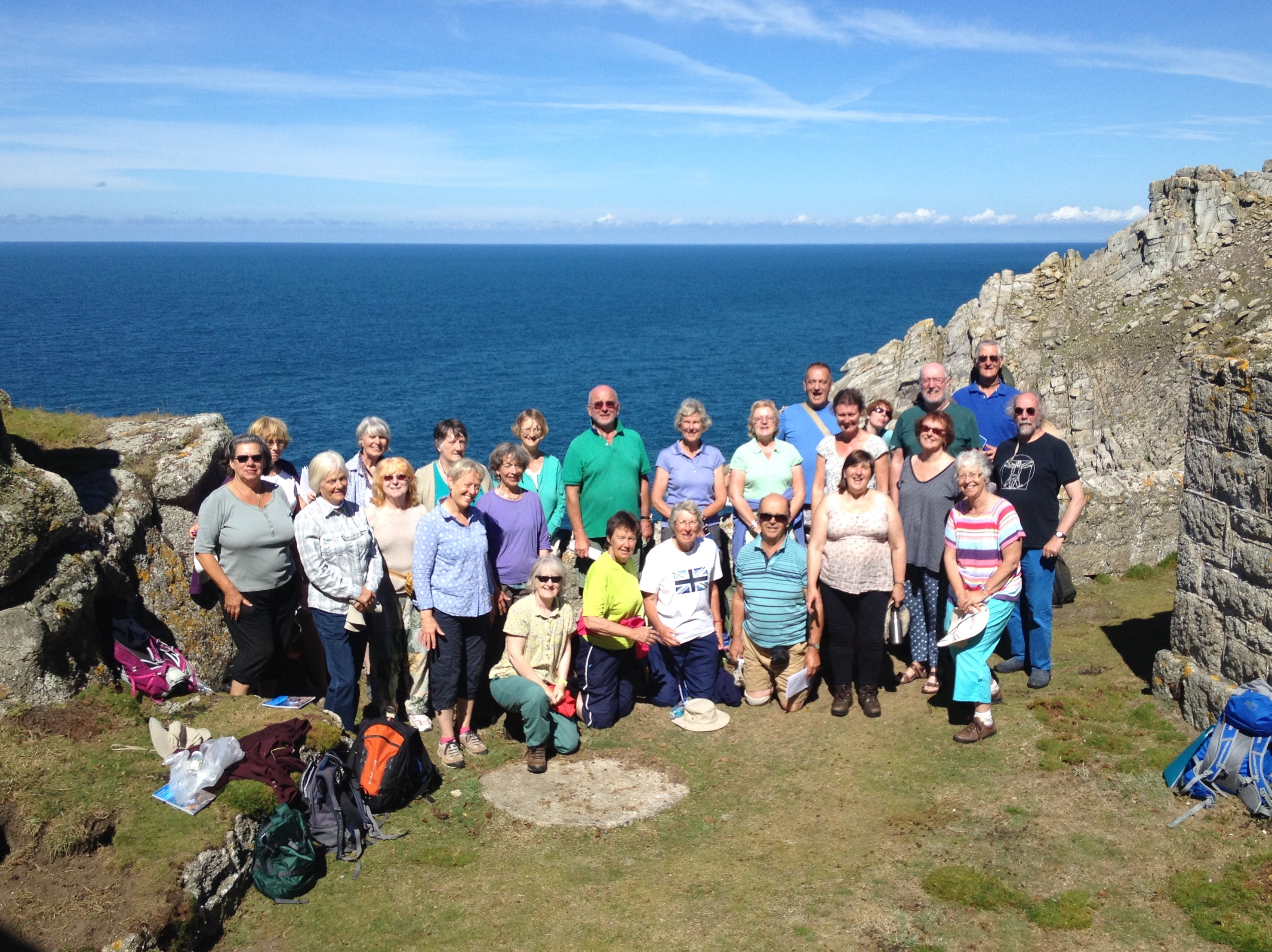 Songways Singers on Lundy 2016